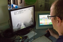 Überwachung der Packerpositionierung am PC-Bildschirm