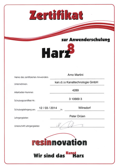 kandis_Zertifikat_Harz_Martini