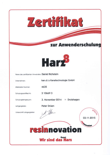 kandis_Zertifikat_Harz_Richstein