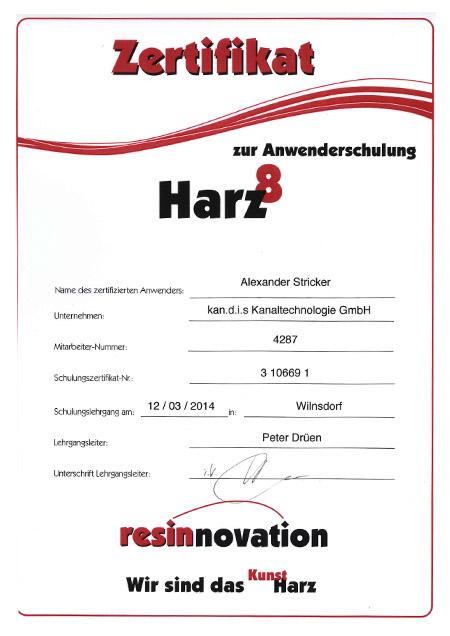 kandis_Zertifikat_Harz_Stricker