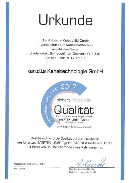 kandis_Zertifikat_Saertex_S_plus