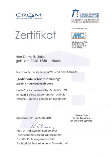 kandis_Zertifikat_Schachtsanierung_Liebe